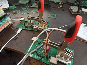 OpenWrt driven SoM placed at testbench