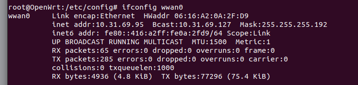 openwrt 3g modem