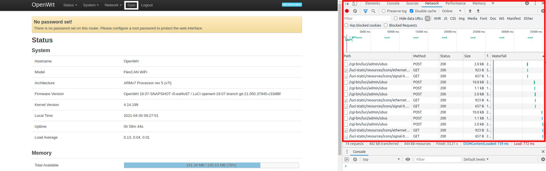 luci developer tools